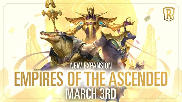 A look at the promo art for Legends Of Runeterra: Empires Of The Ascended. Courtesy of Riot Games.