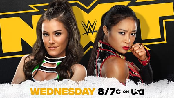 Xia Li plans to teach Kacy Catanzaro to mind her own business on NXT tonight. But how will she feel when that anti-interventionist stance comes back to haunt her surround Catanzaro's use of coronavirus PPE?