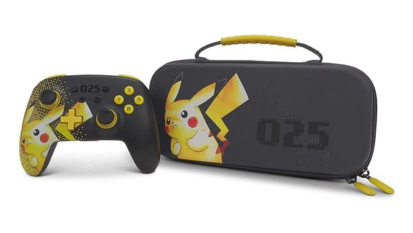 A look at the Pokémon protection case and controller for Nintendo Switch, courtesy of Power A.