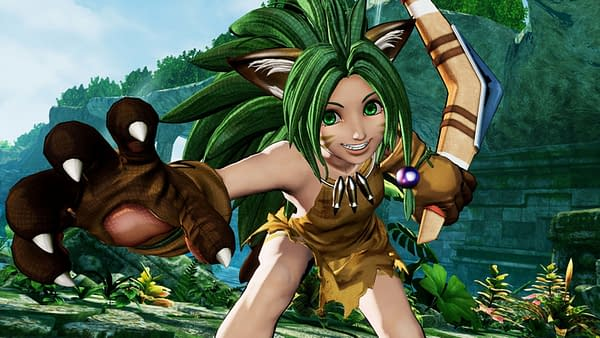 Be ready to face off against the green-haired fury that is Cham Cham. Courtesy of SNK.