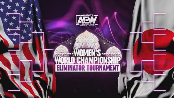 Empty brackets for the AEW Women's World Championship Eliminator Tournament