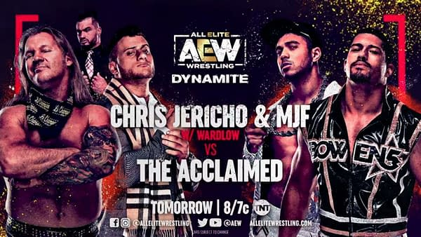 Chris Jericho and MJ take on The Acclaimed on AEW Dynamite