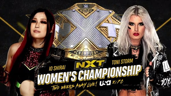 NXT Breaking News: Toni Storm Will Challenge Io Shirai For The Title
