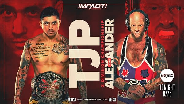 After winning the Revolver match at No Surrender, Josh Alexander gets a shot at TJP for the X-Division Championship on Impact Wrestling tonight
