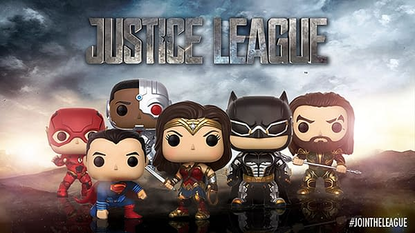 DC Universe Infinite Offers Synder Cut Justice League 4-Pack Funko Set