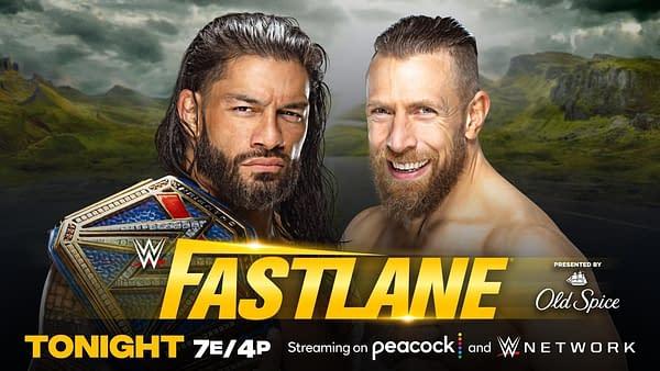 WWE Fastlane - Roman Defeats Daniel Bryan Because DAMNIT EDGE