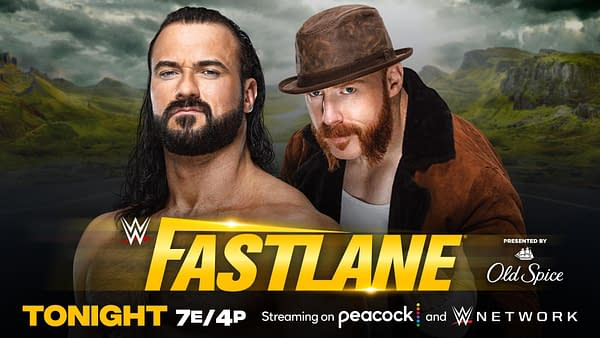 WWE Fastlane - Drew McIntyre Wrecks Sheamus With a Claymore Kick