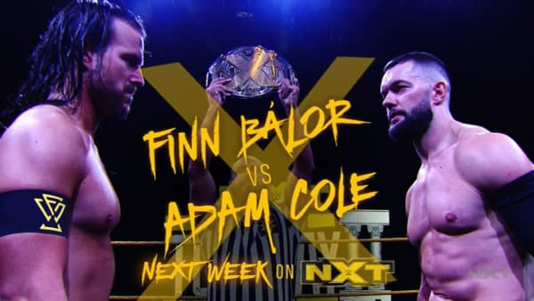 NXT Next Week Should Be A Doozy! Multiple Main Events Announced