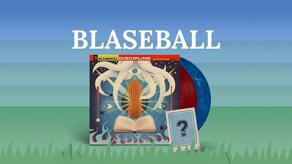 A look at the packaging and artwork for The Blaseball: Discipline, courtesy of iam8bit.