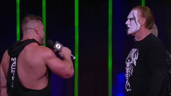 Brian Cage professes his respect to Sting on AEW Dynamite: St. Patrick's Day Slam.