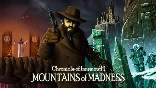 What will you discover in the Mountains Of Madness? Courtesy of PsychoDev.