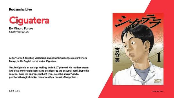 Kodansha Announces New Fall 2021 Manga Titles
