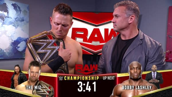 Though The Miz spent WWE Raw this week trying to outrun his destiny, fate caught up to him in the form of Bobby Lashley