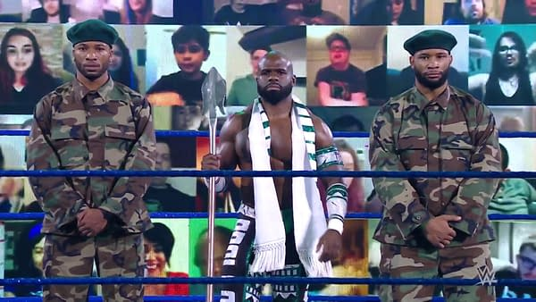 In a total mindf**k, Apollo Crews reveals he's had a thick Nigerian accent all along and was just faking not having an accent before on WWE Smackdown.