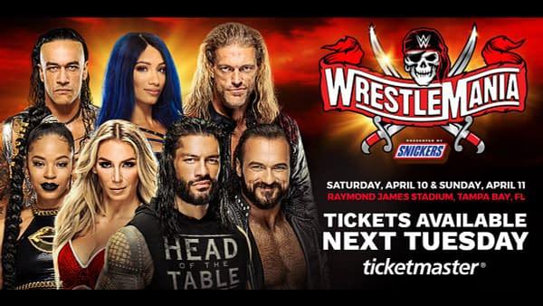 Will COVID-mania run wild all over WWE WrestleMania this year?