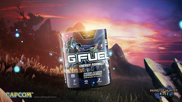 G Fuel Announces Monster Hunter Rise Flavors Coming Soon
