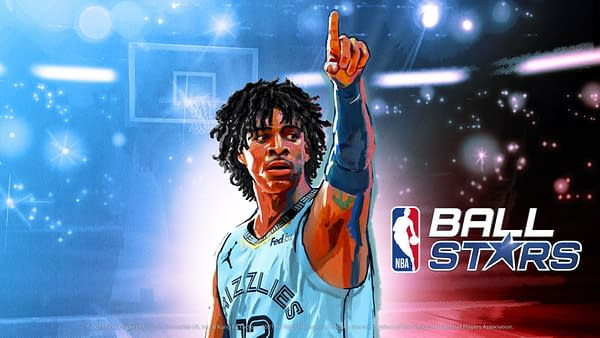 Ja Morant serves as the cover athlete to this new NBA puzzle title, courtesy of Netmarble.
