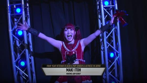 Maki Itoh makes her AEW Debut