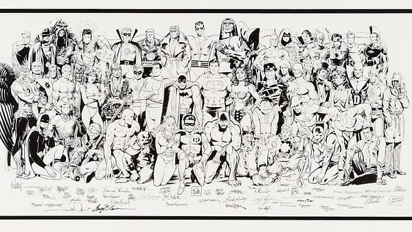 An Incredible History Of DC Comics Original Artwork Goes To Auction