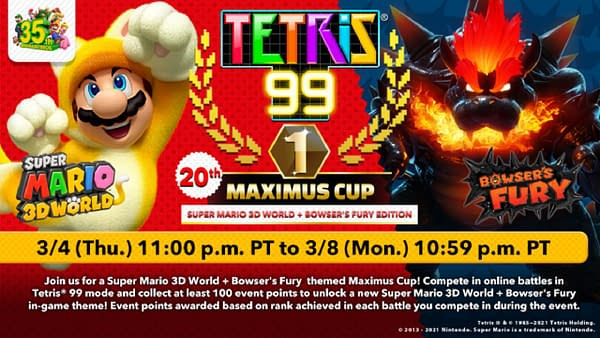 Can you make it into the top 99 players for the 20th Cup? Courtesy of Nintendo.