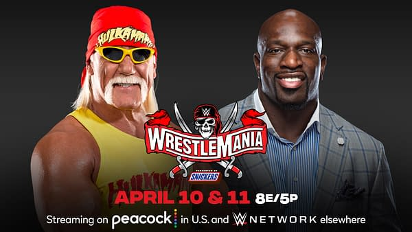 Hulk Hogan and Titus O'Neil will host WrestleMania
