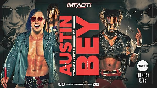 Ace Austin will face Chris Bey ahead of Austin's shot at the X-Division Championship at Sacrifice. Will Bey find a way to insert himself into that match?