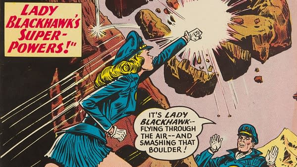 Blackhawk #151 featuring Lady Blackhawk, DC Comics.