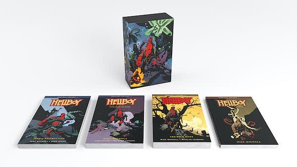 Dark Horse Announces Hellboy Ombnibus Box Set, an Omnibus of Omnibi