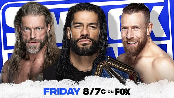 Smackdown Preview:Roman Reigns, Edge, and Daniel Bryan will TALK the night before WrestleMania on WWE Smackdown!