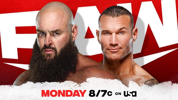 Randy Orton will turn his shovel on Braun Strowman on WWE Raw this week.