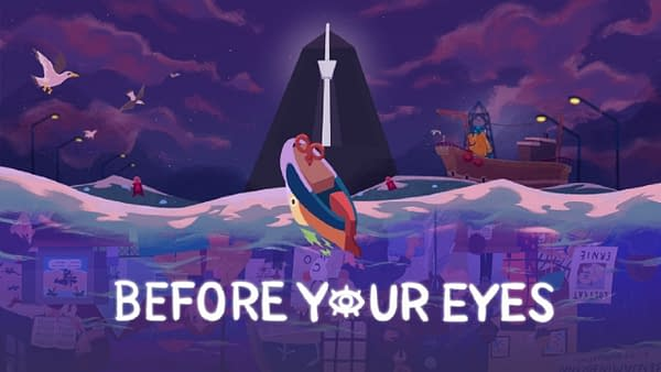 Control the world around you through the blinking of your eyes. Courtesy of Skybound Games.