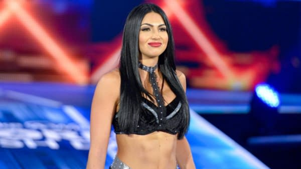 Billie Kay was one of ten stars released by WWE today, courtesy of WWE.