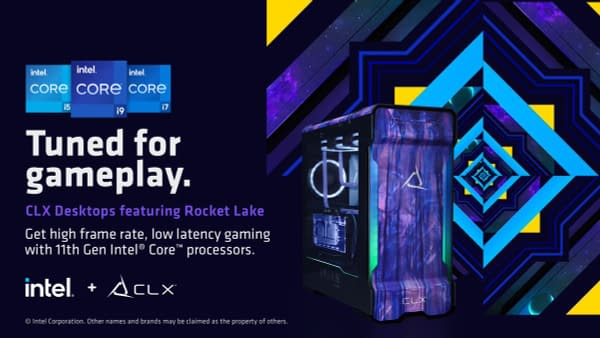 A look at one of the CLX towers with the new Intel processors.