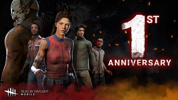To think, it's been one year since you could hunt down your friends in a slasher movie on an iPhone. Courtesy of Behaviour Interactive.