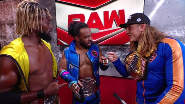Riddle and The New Day get high