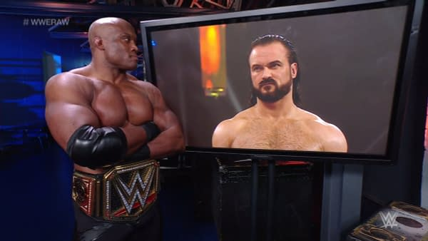 Bobby Lashley has mixed feelings about watching WWE Raw this week.