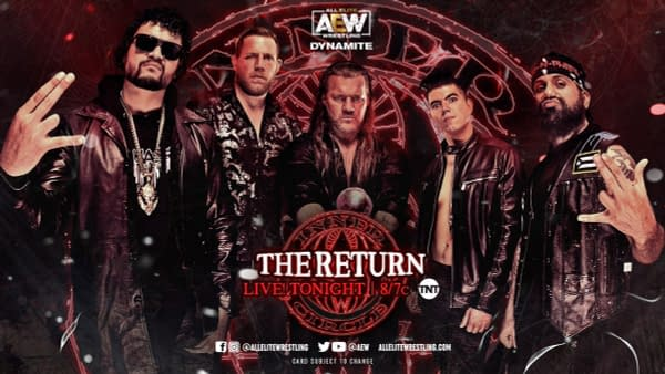 After getting revenge on The Pinnacle during last week's episode of AEW Dynamite, The Inner Circle returns tonight on Dynamite.