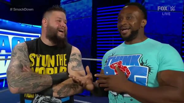 Kevin Owens and Big E find a way to look at the bright side of life on WWE Smackdown