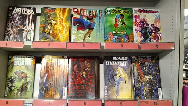 Cycling Into London As Comic Shops Open For The First Time This Year