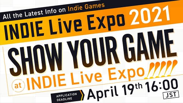 Will you be a part of this year's expo? Courtesy of Indie Live Expo.