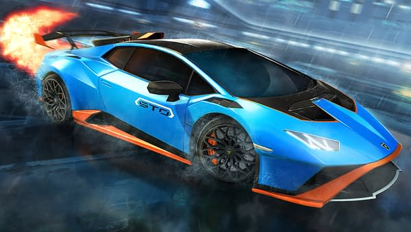 Because who hasn't wanted to play futuristic soccer in a Lambo? Courtesy of Psyonix.