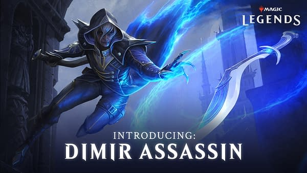 A look at the Dimir Assassin found in Magic: Legends, courtesy of Perfect World Entertainment.