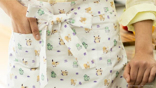 A look at one of the aprons currently on sale, courtesy of Original Stitch.