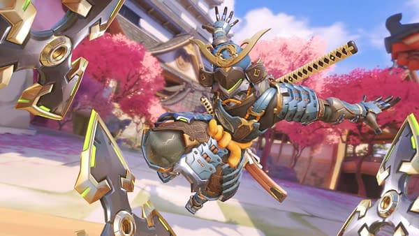 Overwatch Archives 2021 will have you snagging this samurai gear for Genji. Courtesy of Blizzard Entertainment.