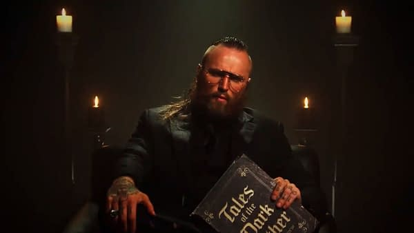 Aleister Black Makes His Spooky Return to WWE Smackdown