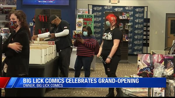 Big Lick Comics - New Comic Shop Opens In Roanoke, Virginia