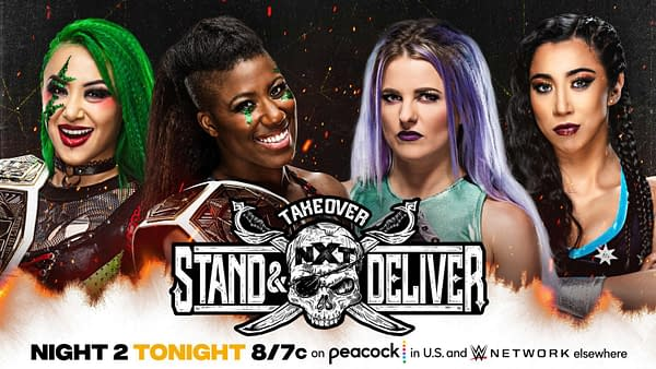 NXT Takeover: Stand & Deliver – Preview For Tonight's Night Two