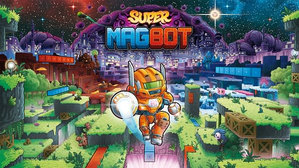 If there's one thing that the future in Super Magbot has, it's magnets everywhere you go. Courtesy of Team17.