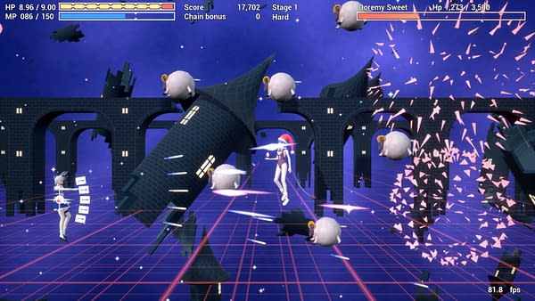 Another screenshot from indie developer Skydash Studios' upcoming game, Touhou Multi Scroll Shooting 2.