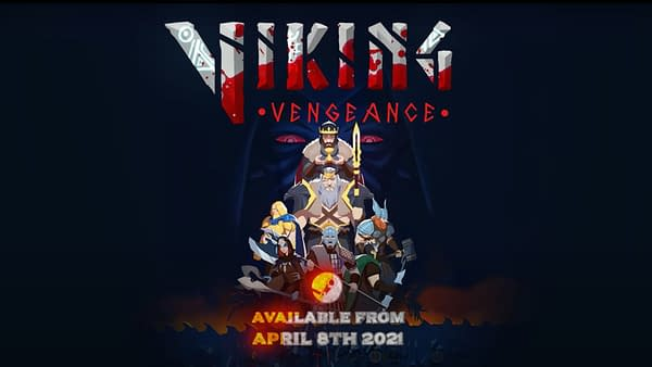 Promotional art for Viking Vengeance, a new indie roguelite RPG by Lowpoly Interactive.